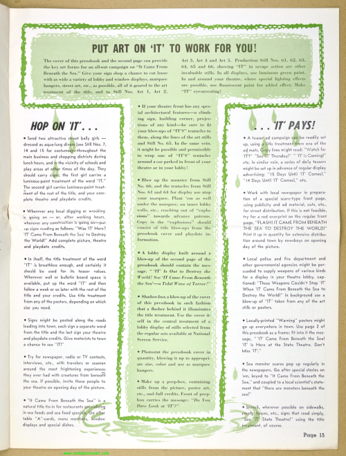 It Came From Beneath the Sea Pressbook_15
