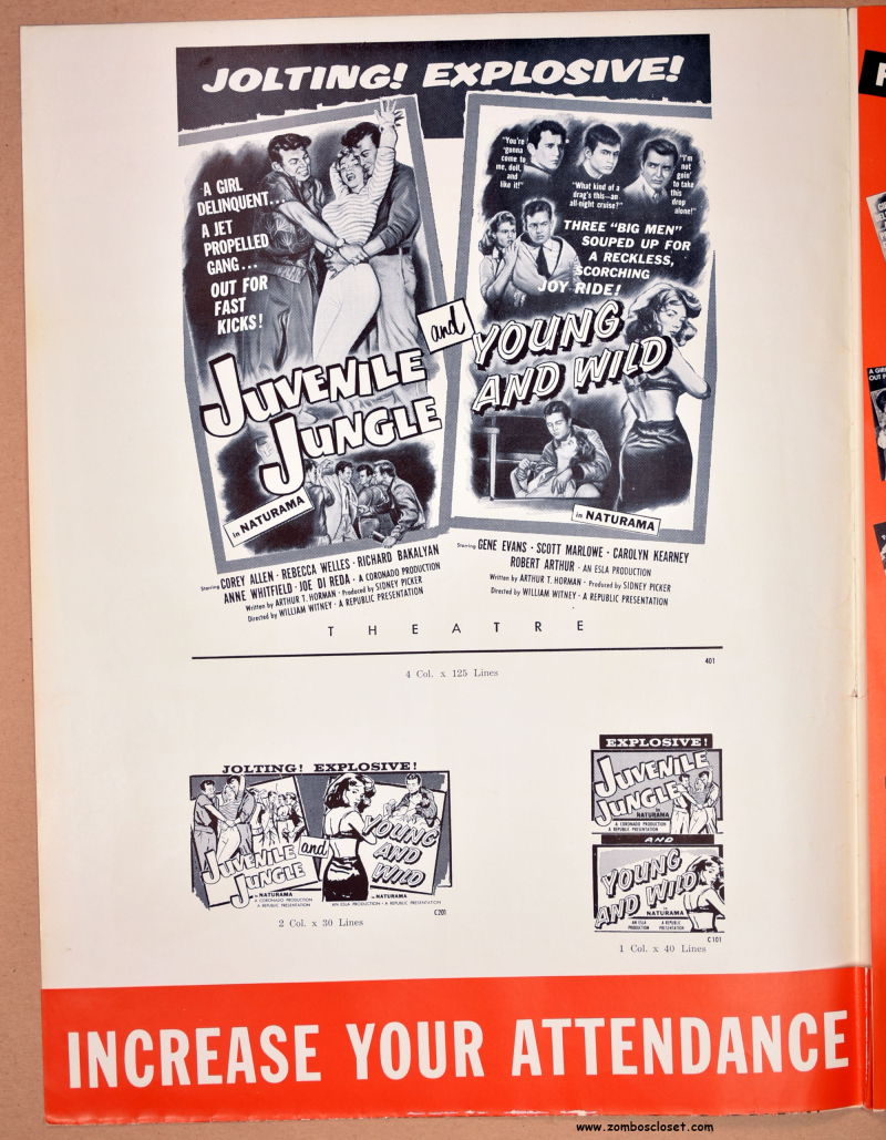 Juvenile Jungle and Young and Wild Pressbook 07