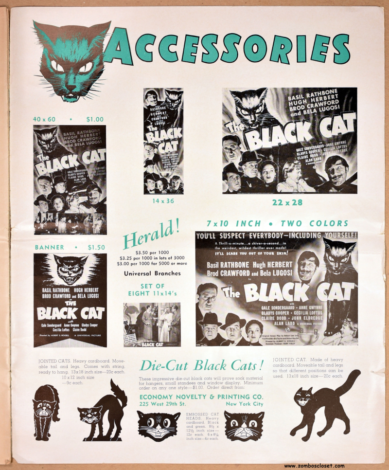 The Black Cat Pressbook 09