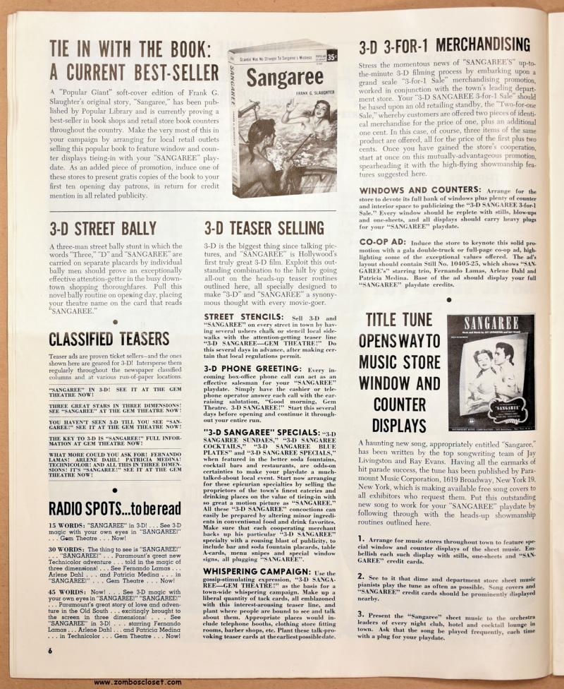 Sangaree Pressbook 01