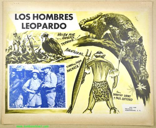 The Leopard Men Lobby Card 01