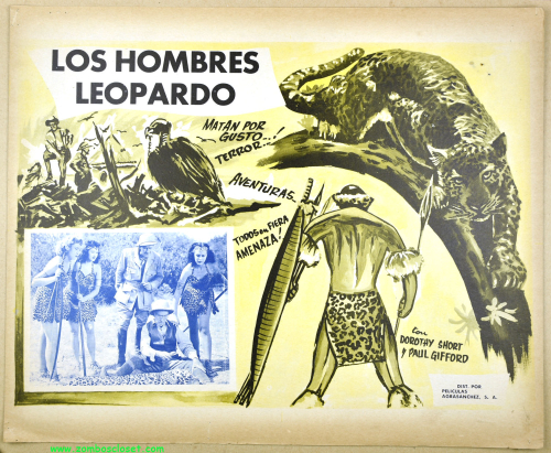 The Leopard Men Lobby Card 01