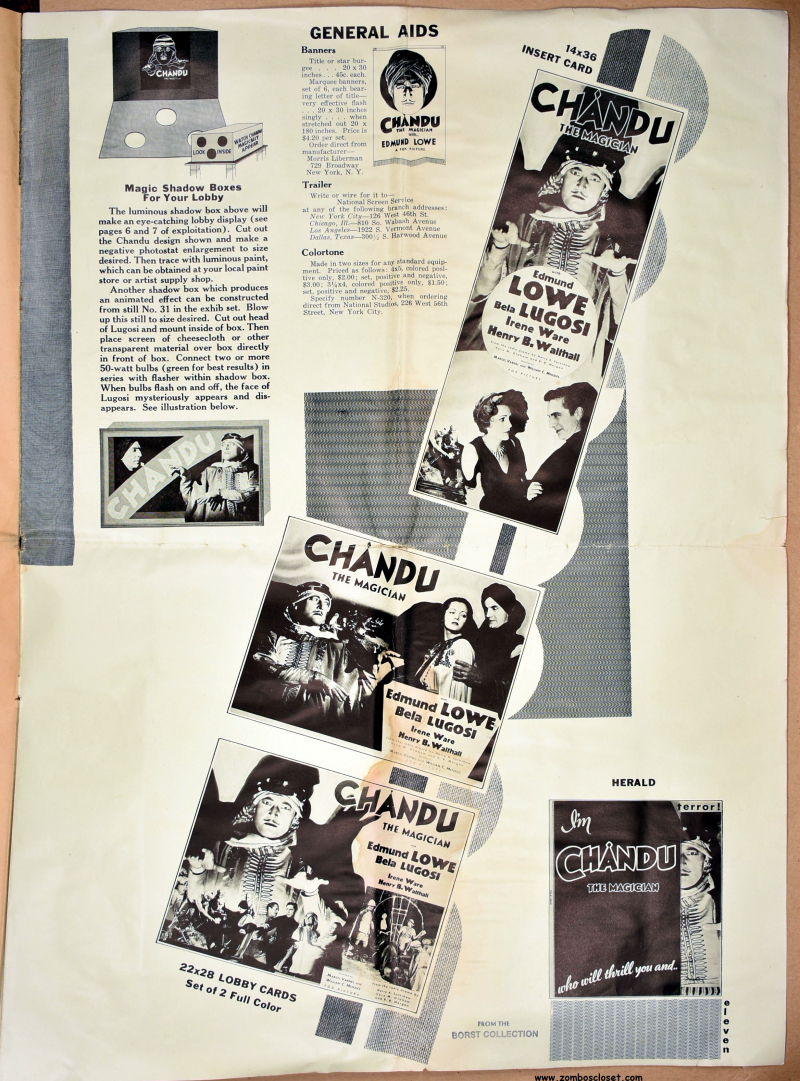 Chandu the Magician Pressbook 09