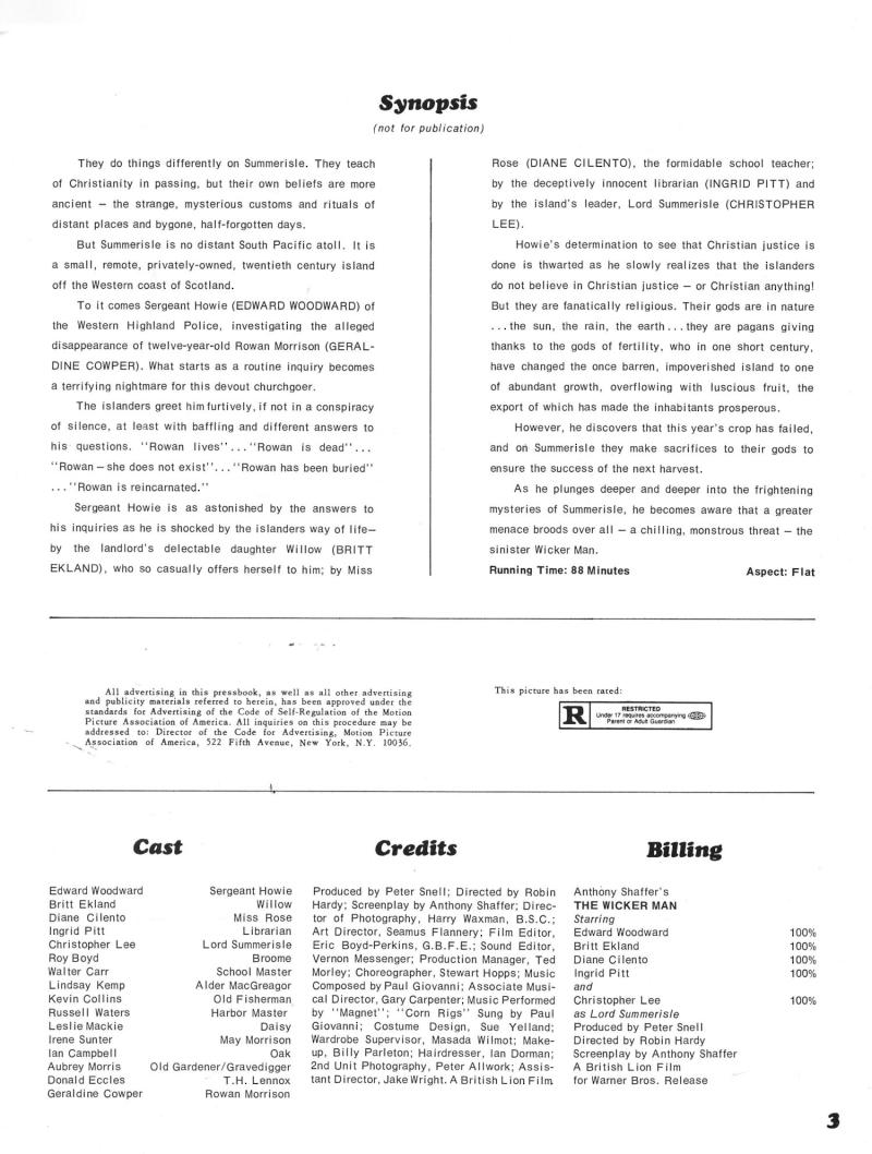 The Wicker Man Pressbook_000001