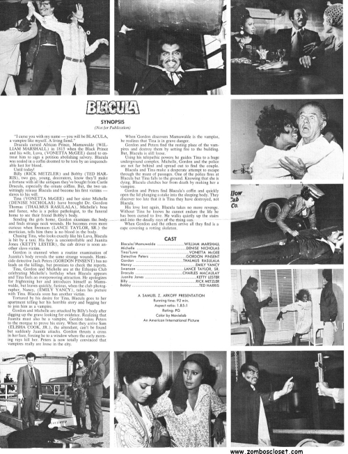 Blacula Pressbook