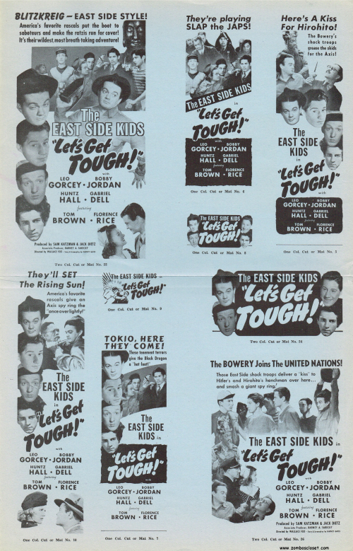 Let's Get Tough Pressbook