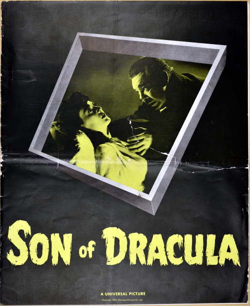 Son of Dracula Pressbook 01