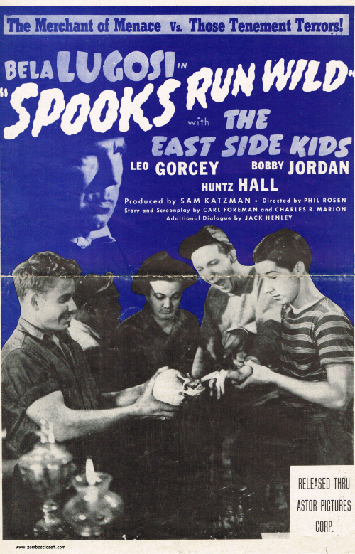 Spooks Run Wild Pressbook