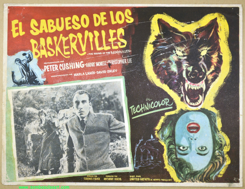 Hound of the baskervilles lobby card