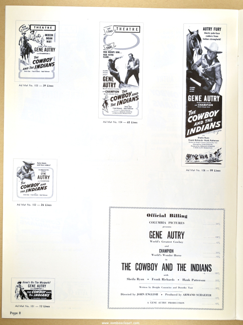 Gene Autry Pressbook 01