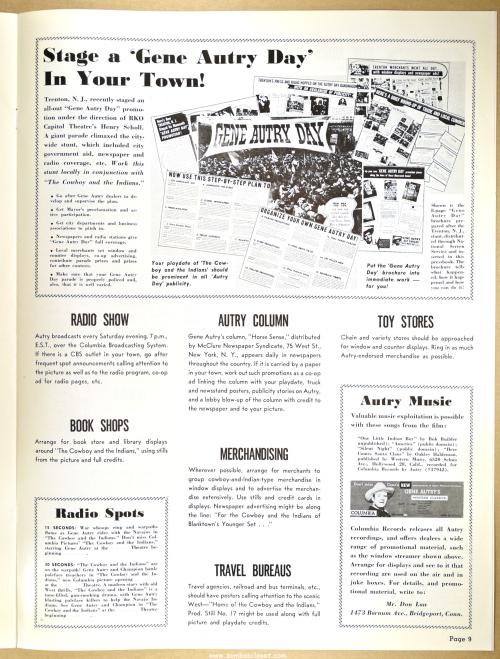 Gene Autry Pressbook 09