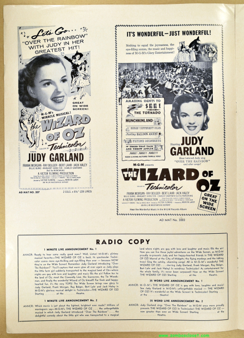 Wizard of Oz Pressbook 07