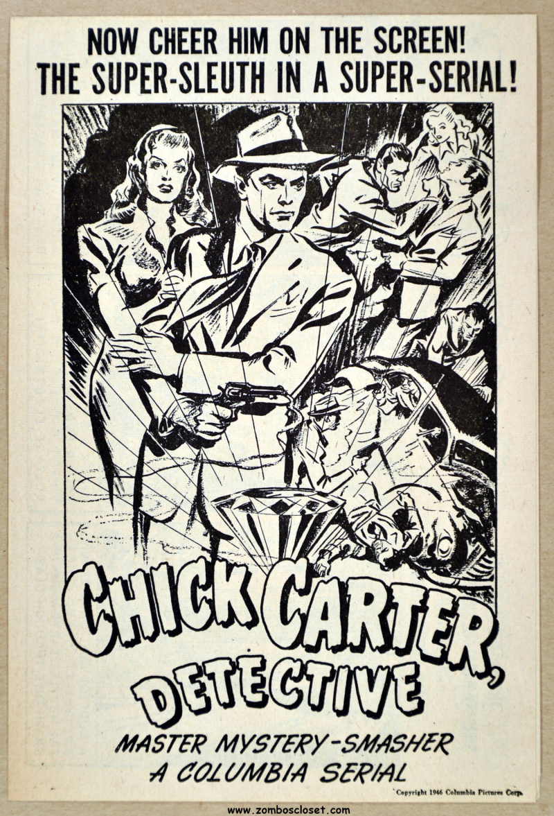 Chick Carter  Detective Movie Herald 01