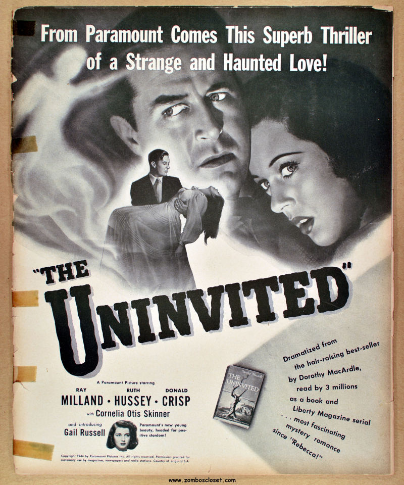 The Uninvited Pressbook 01