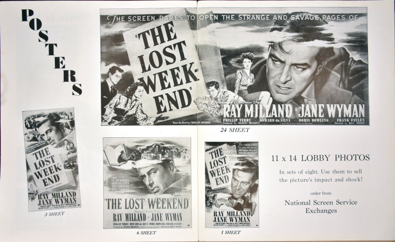 The Lost Weekend Pressbook 25