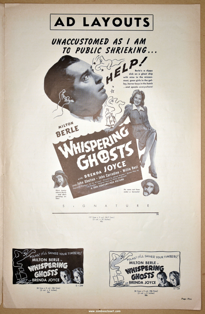 Whispering Ghosts Pressbook 01