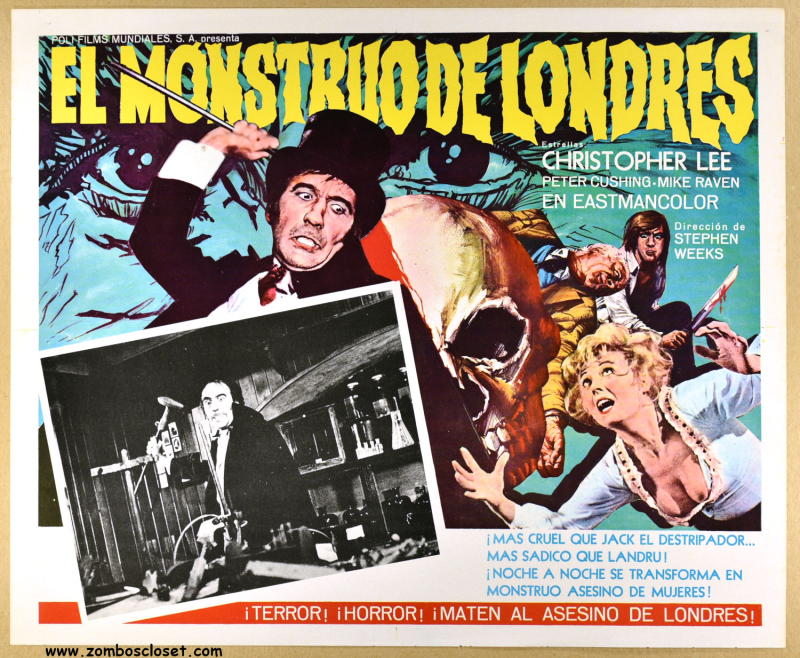 I Monster Lobby Card
