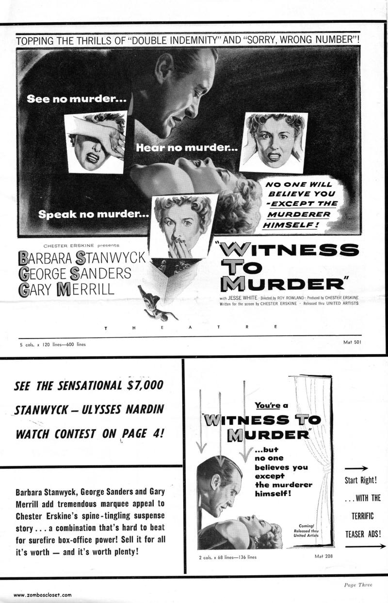 Witness to Murder Pressbook_000001