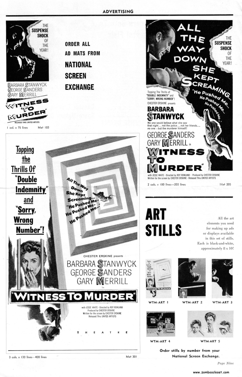 Witness to Murder Pressbook_000007