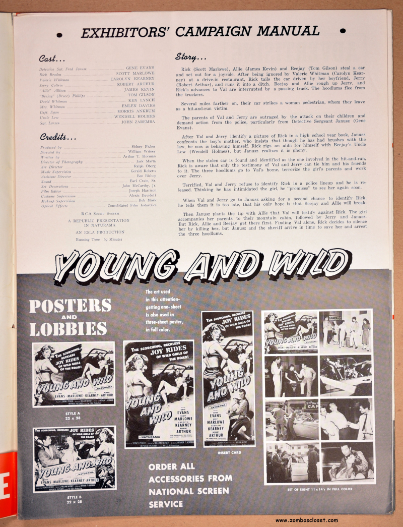 Juvenile Jungle and Young and Wild Pressbook 01