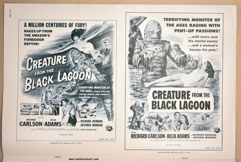 Creature from the Black Lagoon Pressbook 01