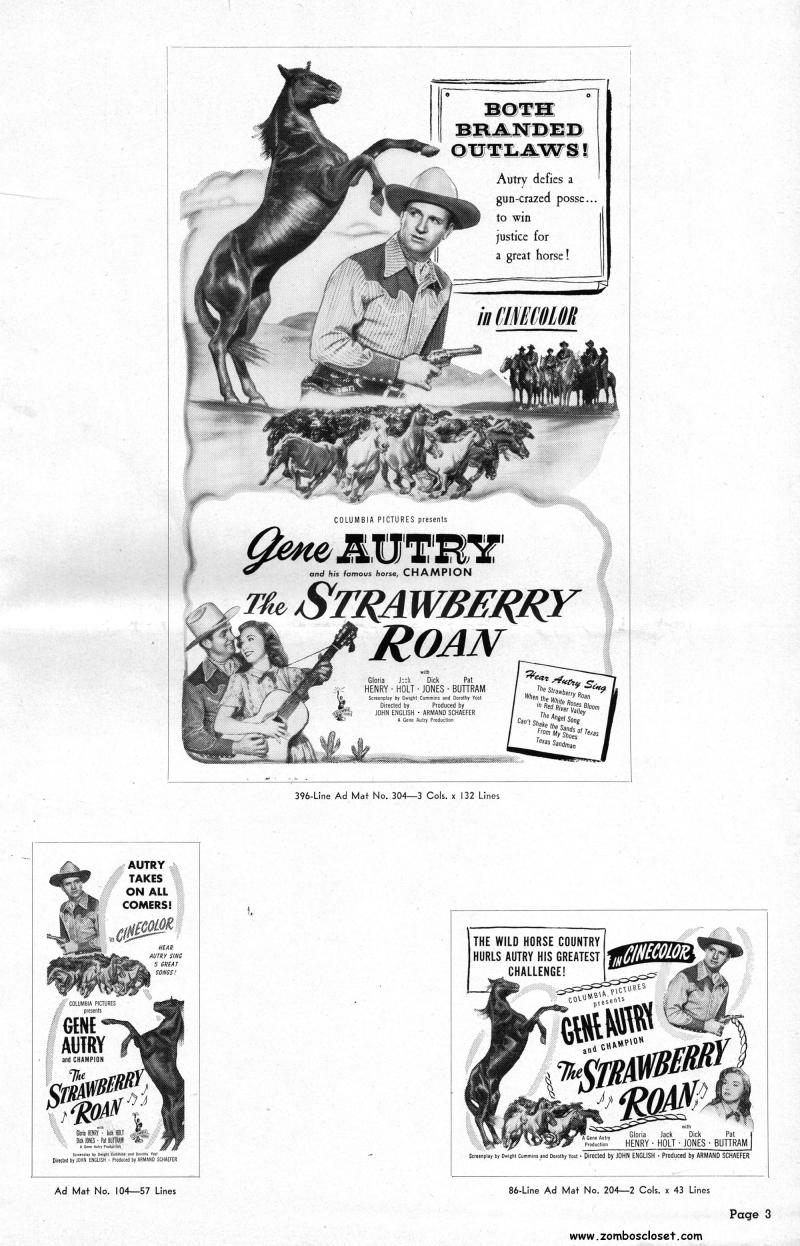 The Strawberry Roan Pressbook_000001