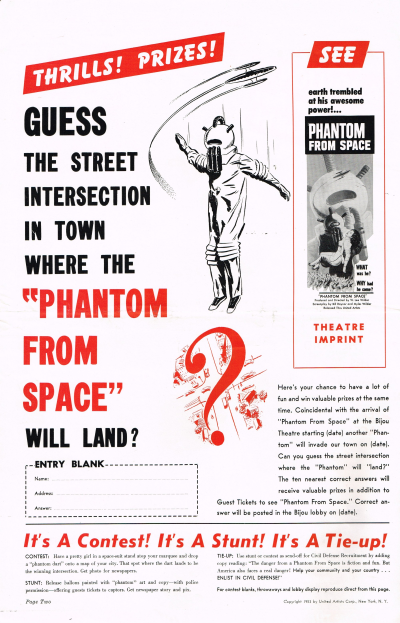Phantom From Space Pressbook_000001