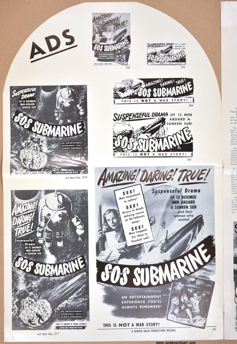 SOS Submarine Pressbook 1