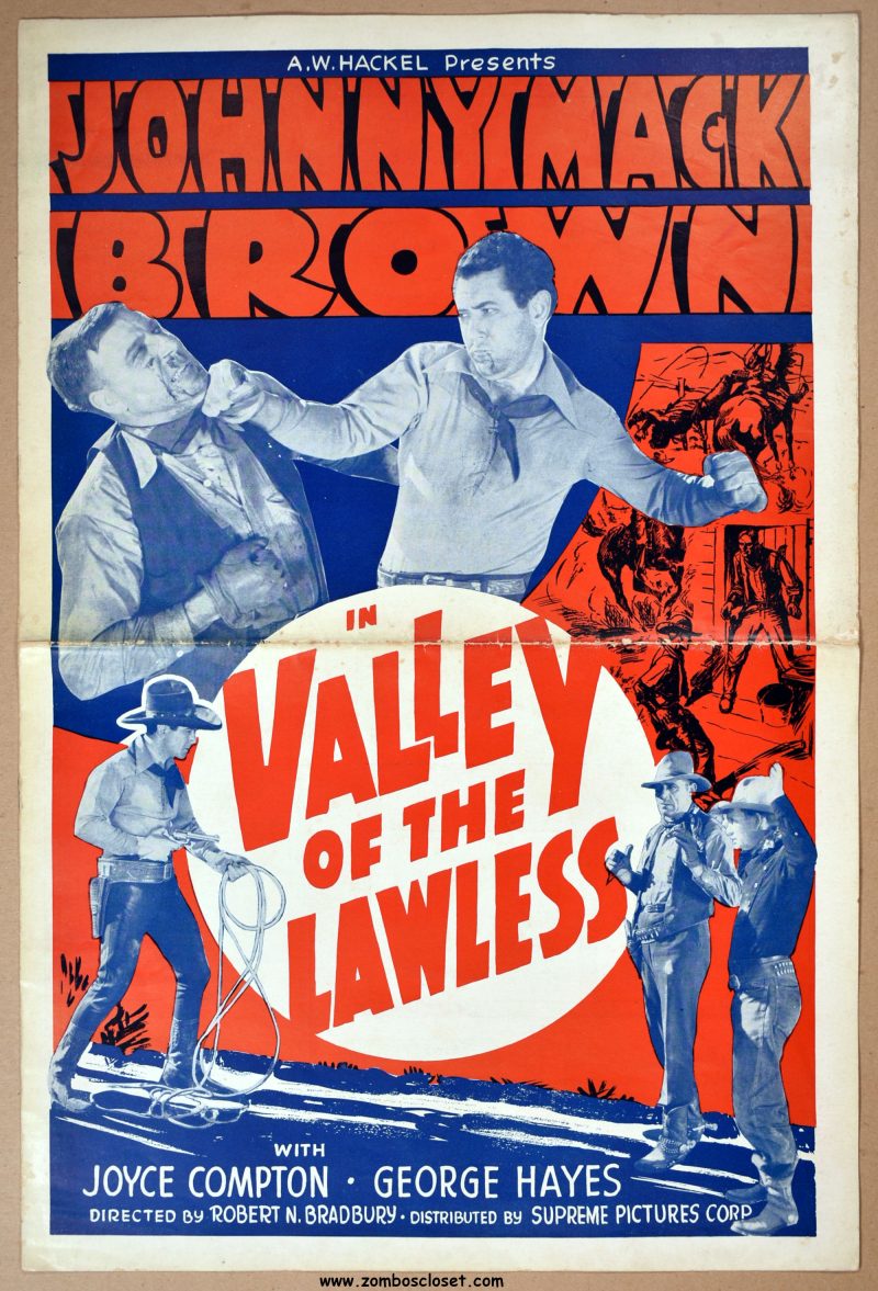 Valley of the Lawless Pressbook 1