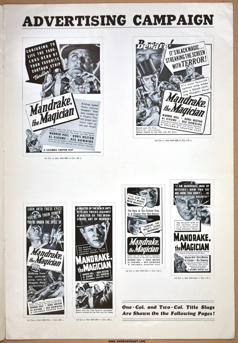 Mandrake the Magician 01