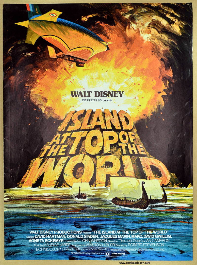Island at the Top of the World pressbook 01