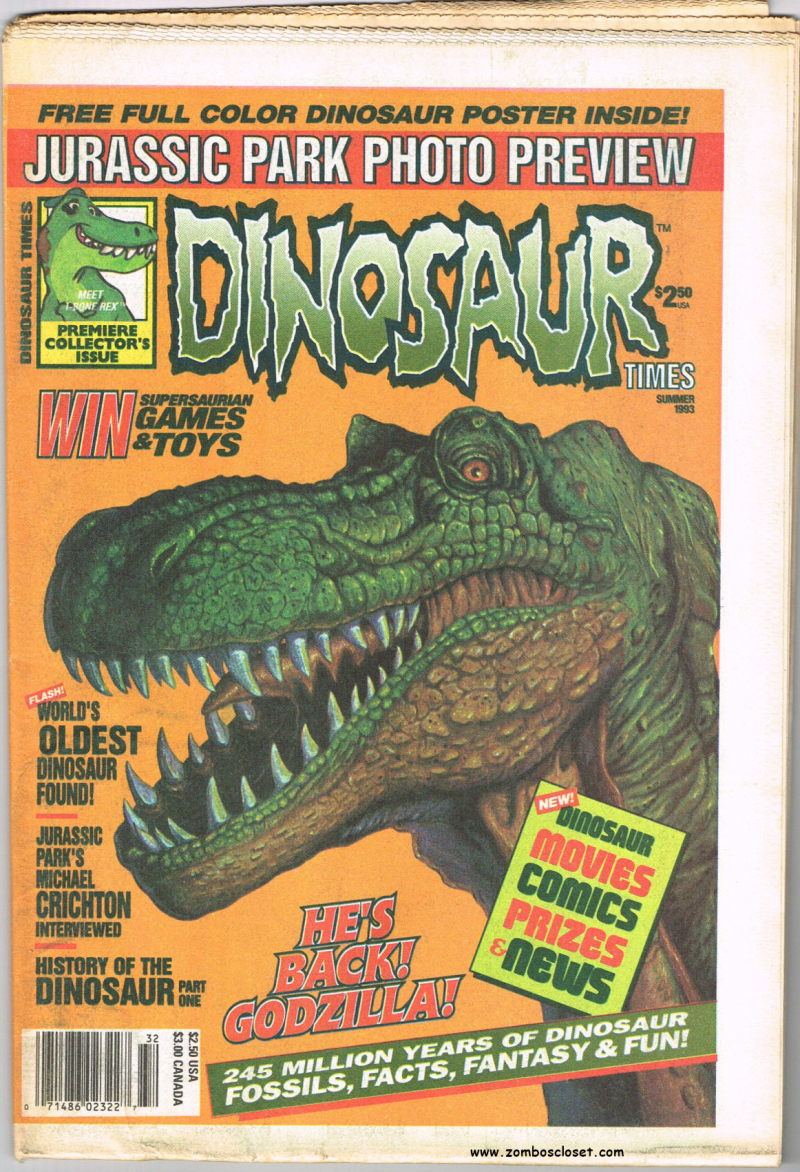 Dinosaur times cover
