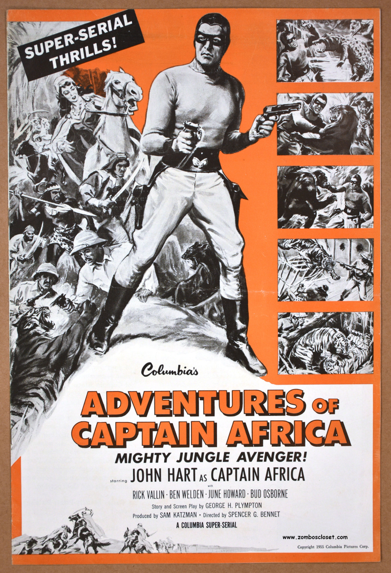 Adventures of Captain Africa 01