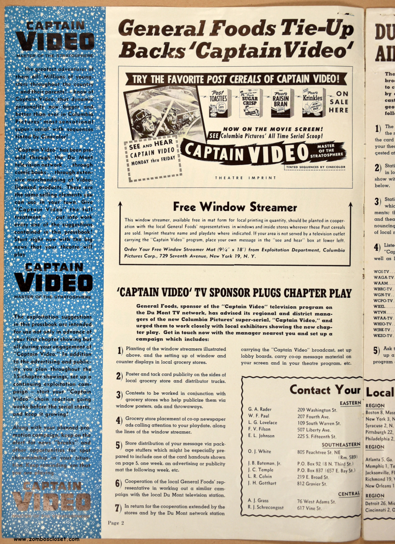 Captain Video Pressbook 01