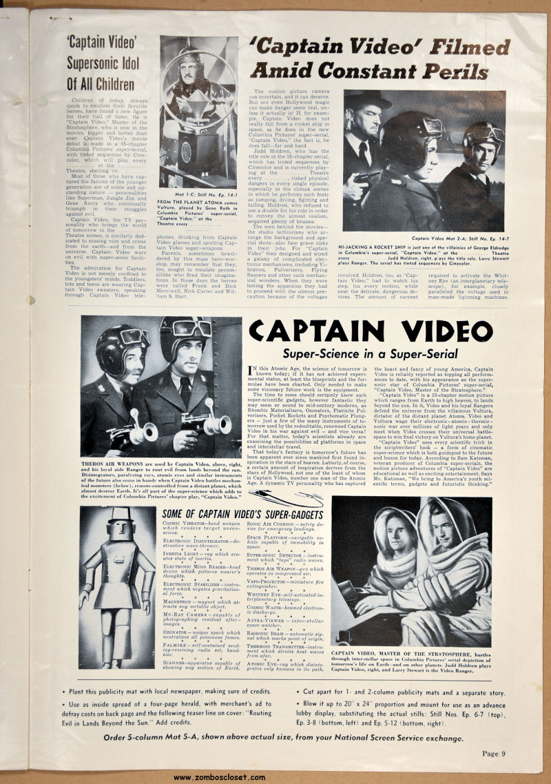 Captain Video Pressbook 09