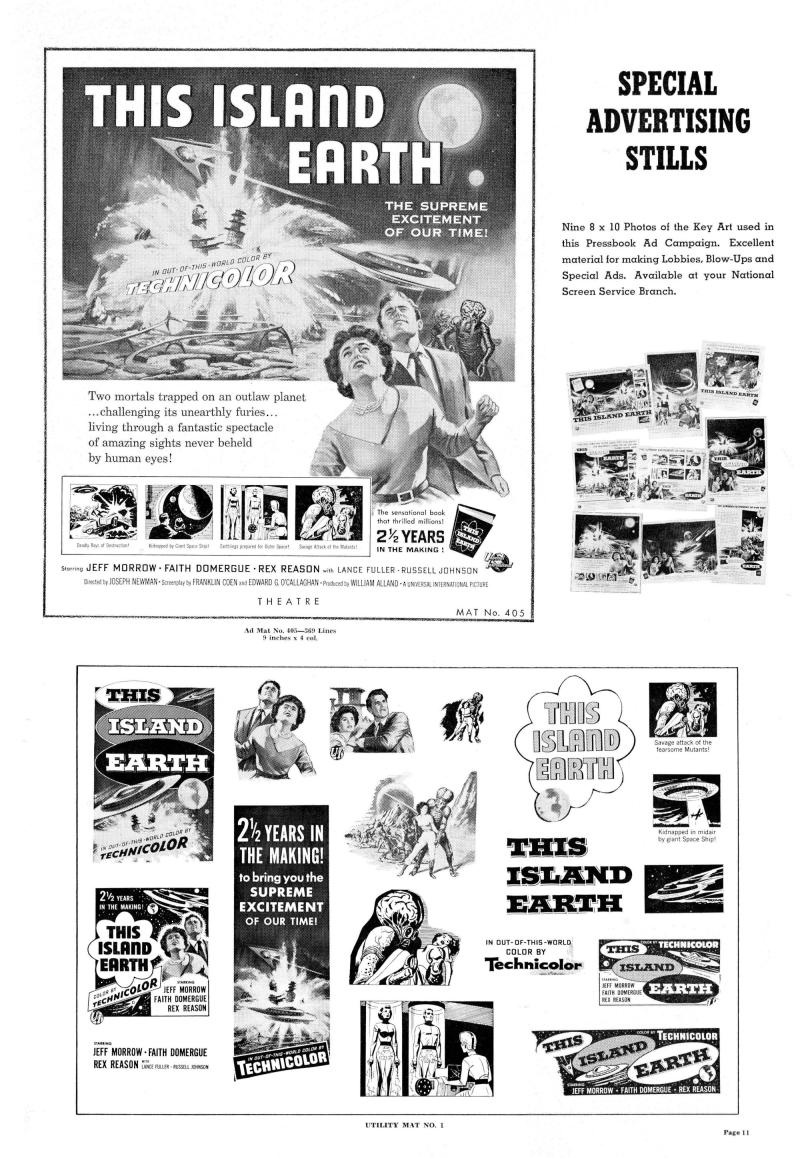 This Island Earth Pressbook 9