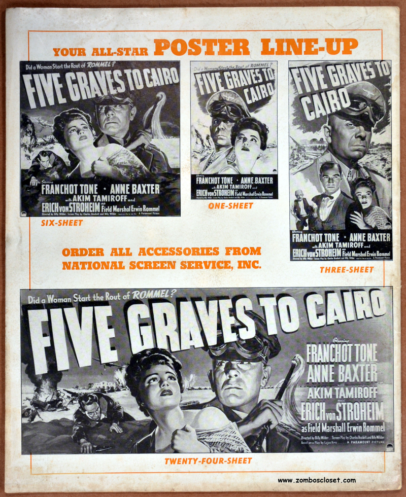 Five Graves to Cairo Pressbook 33