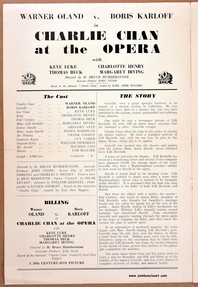 Charlie Chan at the Opera pressbook 02