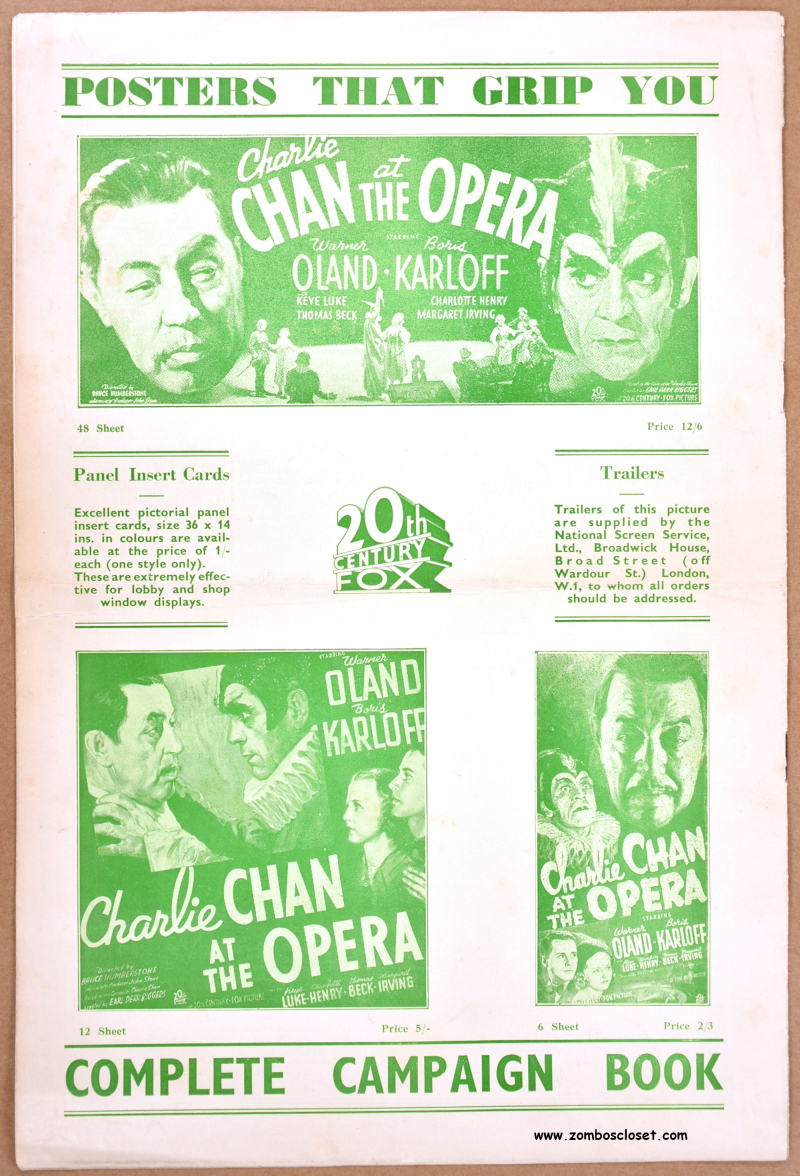 Charlie Chan at the Opera pressbook 08
