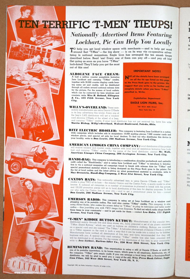 T-Men Pressbook 01