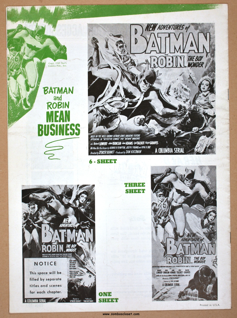 New Adventures of Batman and Robin Pressbook 09