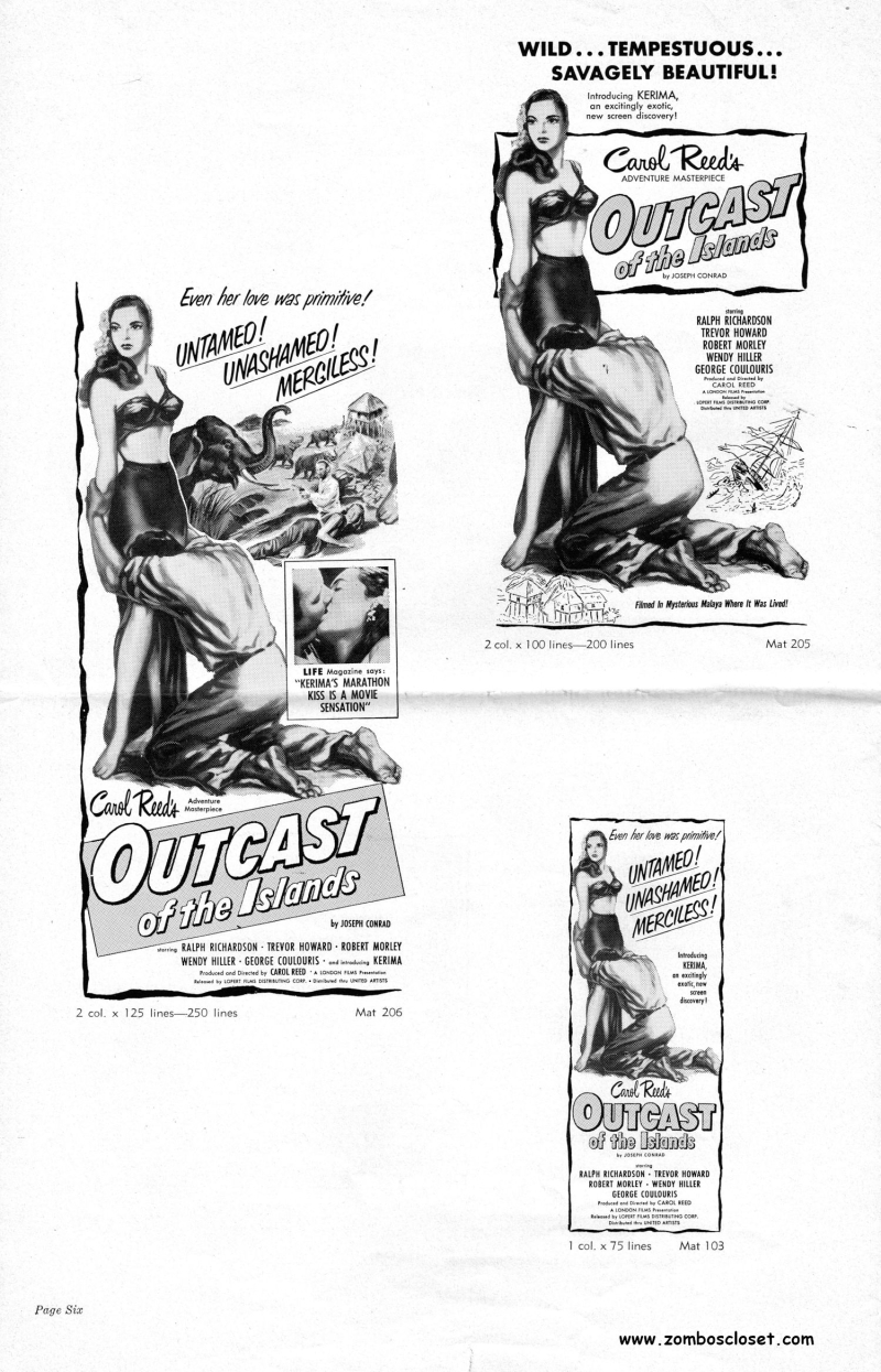 Outcast of the Island Pressbook_000001