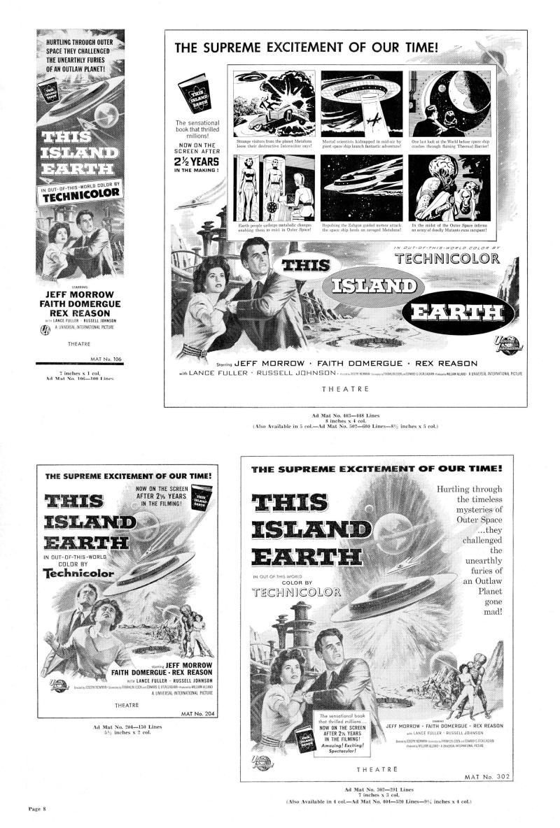 This Island Earth Pressbook 1