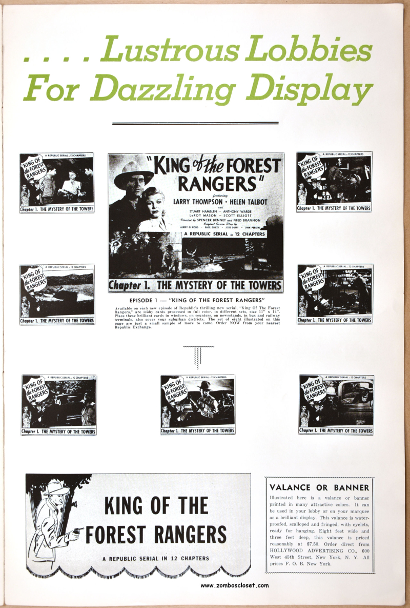 King of the Forest Rangers Pressbook 07
