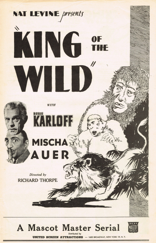 King of the Wild 1931 Pressbook_01