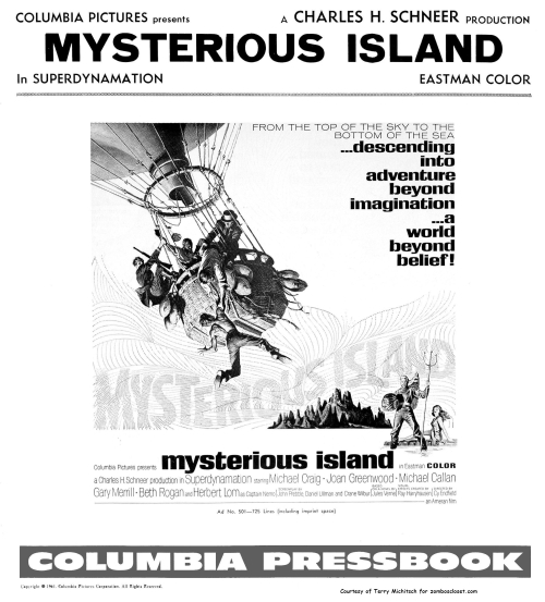 Mysterious Island Pressbook pg 1