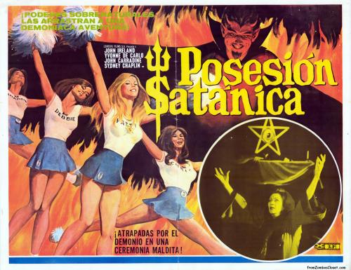 Posesion Satanica satan's cheerleaders