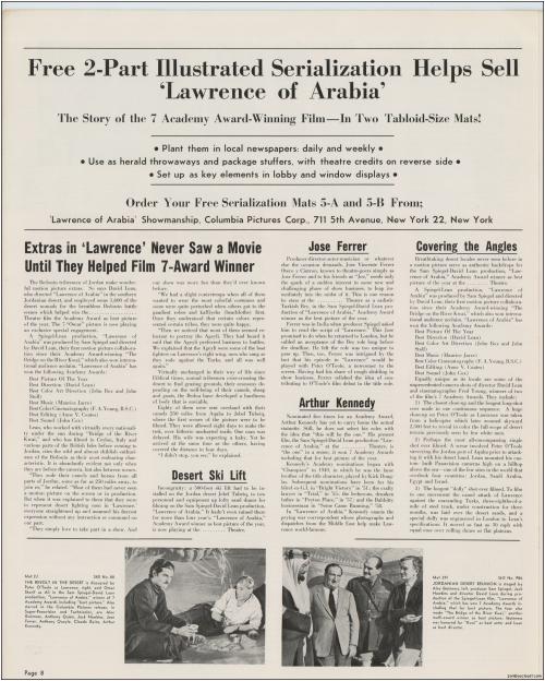 Lawrence of Arabia Pressbook009