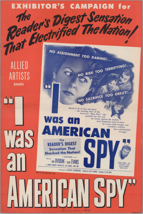 I Was an American Spy Pressbook01