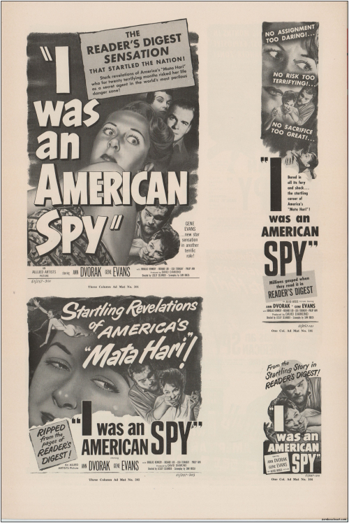 I Was an American Spy Pressbook01